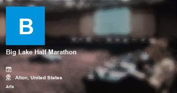Big Lake Half Marathon   Alton   2021