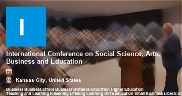 International Conference on Social Science, Arts, Business and Education    Kansas City   2021