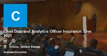 Chief Data and Analytics Officer Insurance: Live 2021   Moline   2021