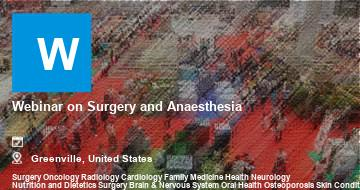 Webinar on Surgery and Anaesthesia   Greenville   2021