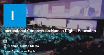 International Congress on Human Rights Education   Tampa   2021