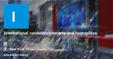 International conference on arts and humanities    New York   2021