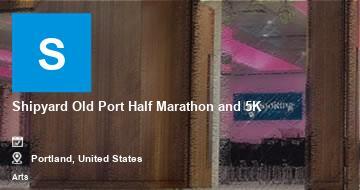 Shipyard Old Port Half Marathon and 5K   Portland   2021
