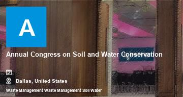 Annual Congress on Soil and Water Conservation    Dallas   2021