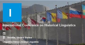International Conference on Historical Linguistics    Seattle   2021