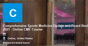 Comprehensive Sports Medicine Update and Board Review 2021 - Online CME Course | Moline | 2021
