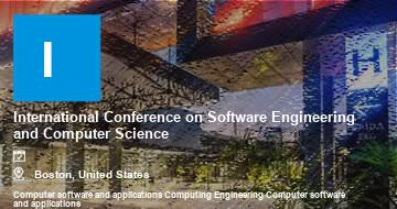 International Conference on Software Engineering and Computer Science    Boston   2021