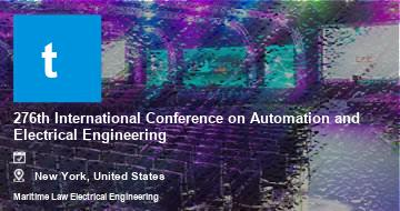 276th International Conference on Automation and Electrical Engineering    New York   2021