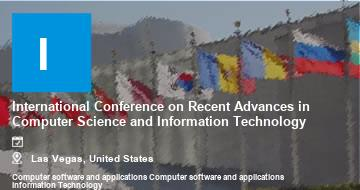 International Conference on Recent Advances in Computer Science and Information Technology    Las Vegas   2021