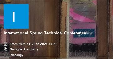 International Spring Technical Conference | Cologne | 2021