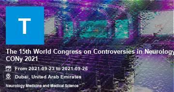 The 15th World Congress on Controversies in Neurology CONy 2021 | Dubai | 2021