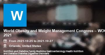 World Obesity and Weight Management Congress – WOC 2021 | Orlando | 2021